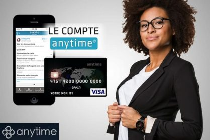 anytime compte bancaire courant