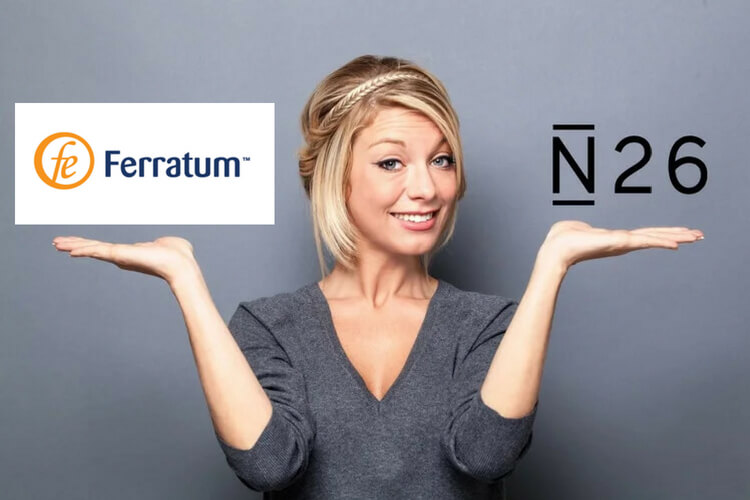 Ferratum vs N26 néobanque